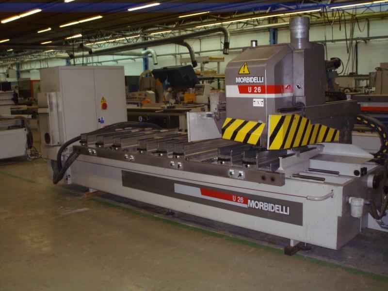 CNC Centro de trabajo Morbidelli U26