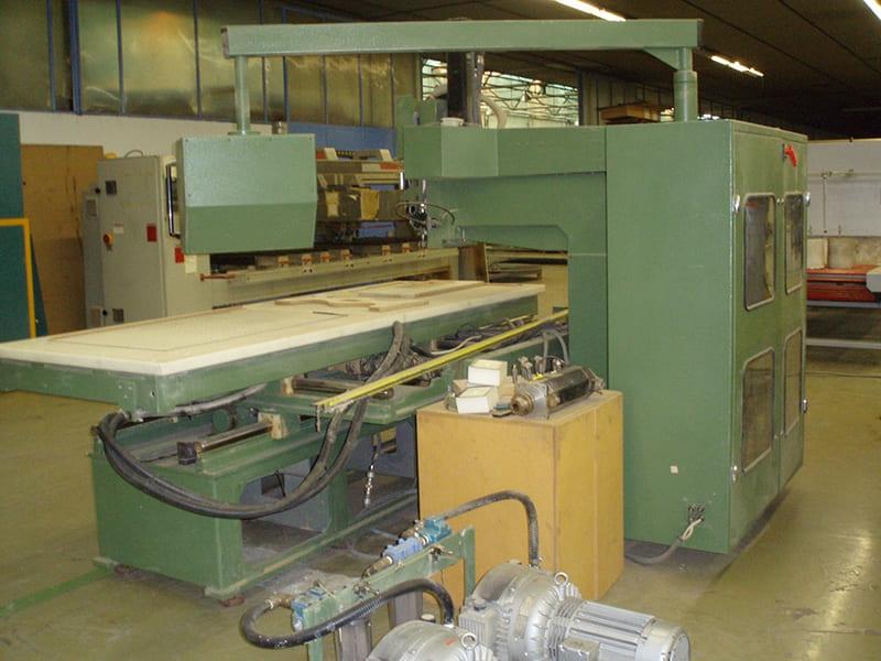CNC Centro de trabajo Wadkin Mod UX
