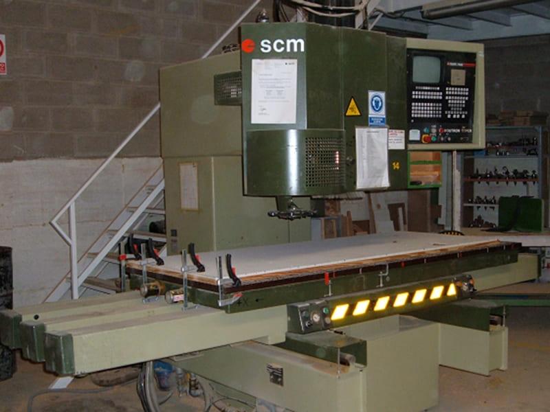 CNC Máquina fresadora SCM