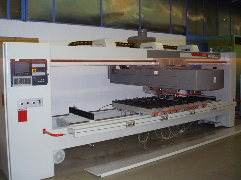 CNC Centro de trabajo Morbidelli U50