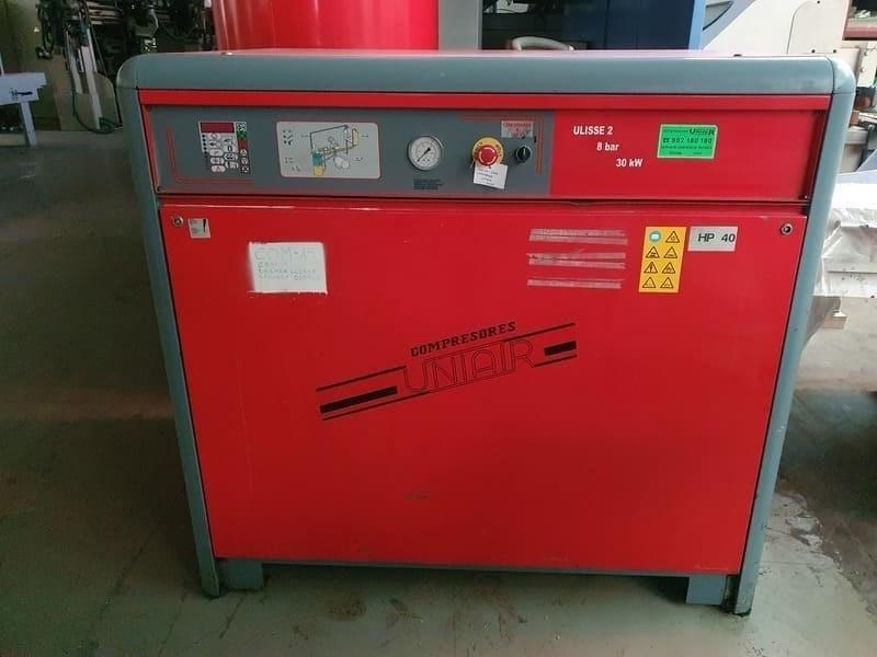 Compresor Uniair de 40 hp